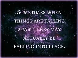 What If Your Life Is Not Falling Apart But Rather Falling Into Place