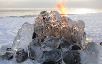 3D Unwinding, Fire and Ice Clash, 8 Days Until Solstice