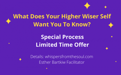 Get Answers To Your Most Pressing Questions From Your Higher Self ~ Special Process